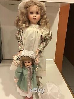 Wendy Lawton Dolls June Amos And Mary Anne Limited Edition #65 Signed Book Rare