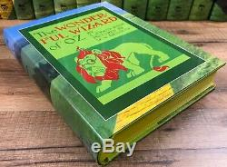 Wizard of Oz 1st Edition Replica 14 Book Set Frank Baum with Papers Signed
