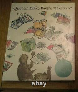 Words and Pictures SIGNED Sir Quentin Blake Hardback 2013 Limited Edition Book